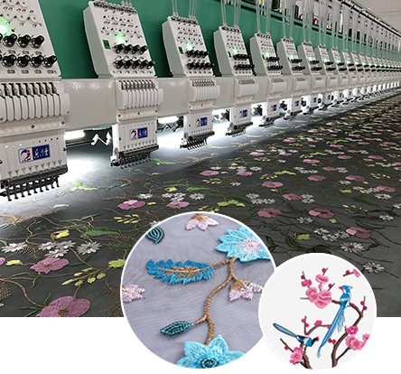 LJ-High Speed Embroidery Machine Series