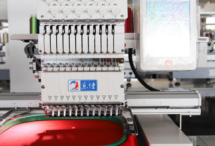LJ-1201 Cap embroidery machine Hat embroidery machine single head embroidery machine