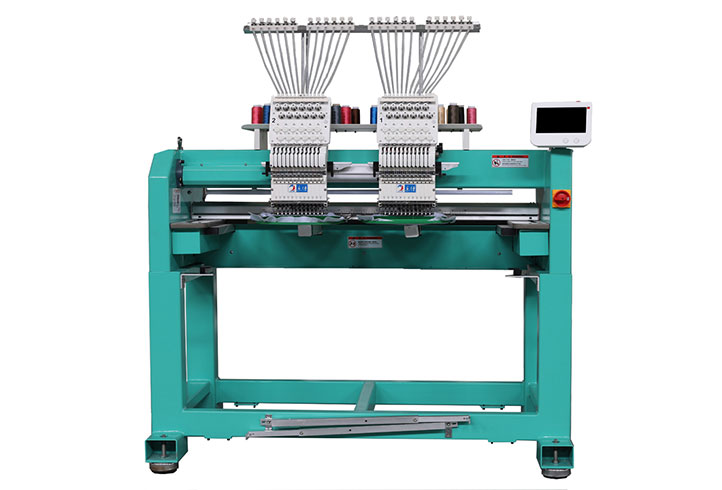 LJ-1202 Cap embroidery machine Hat embroidery machine 2 heads embroidery machine