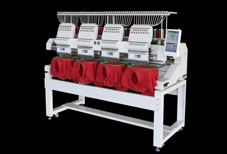 LJ-1204 Cap embroidery machine Hat embroidery machine 4 heads embroidery machine