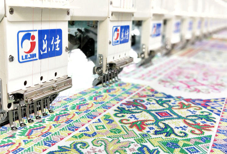 LJ-630 Computer Embroidery Machine High speed embroidery machine computerized embroidery machine