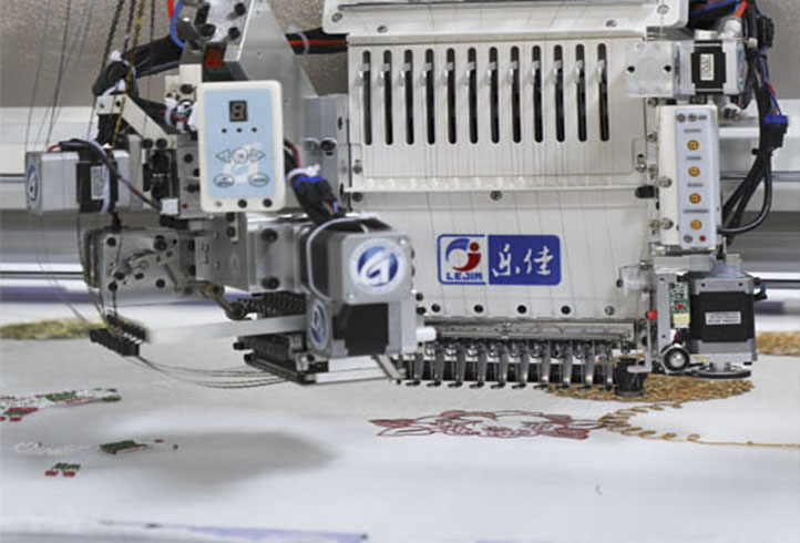LJ-918 Beads embroidery machine sequin embroidery machine cording embroidery machine